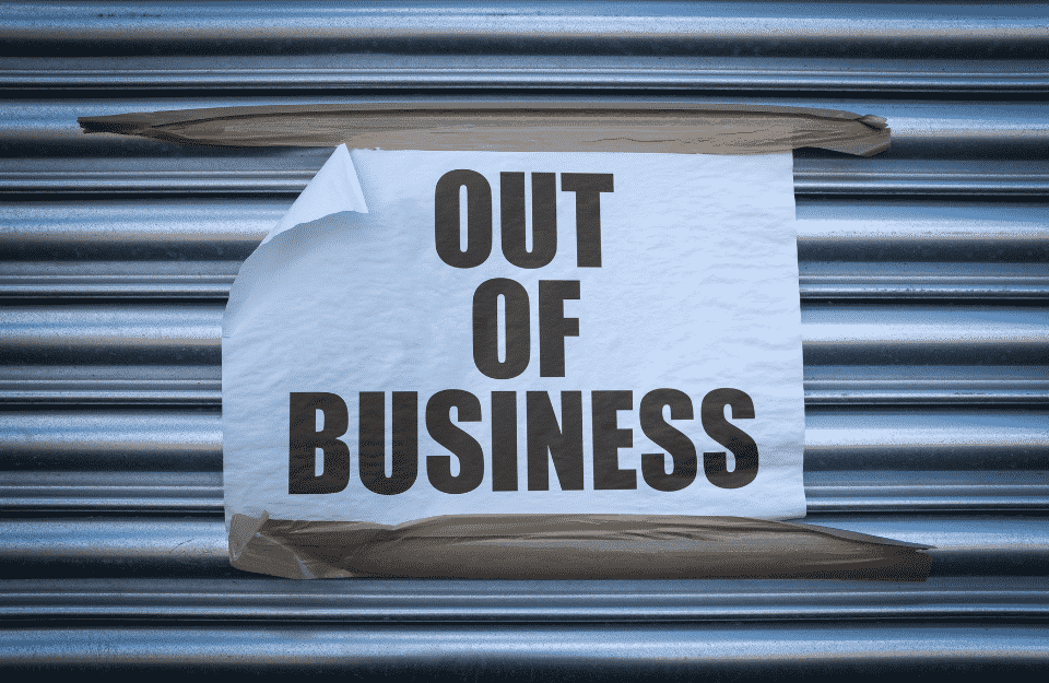 Surge In Firms Going Bust Due To The Economic Downturn